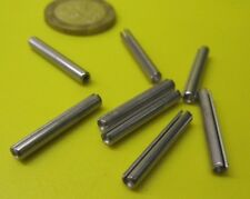 A2 Stainless Steel Slotted Spring Tension Pins Roll Pin DIN1481 M3 x 28-20 Pack