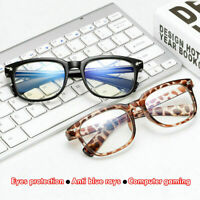 Unisex Gaming Glasses Computer Blue Light Blocking Anti Fatigue UV Protection
