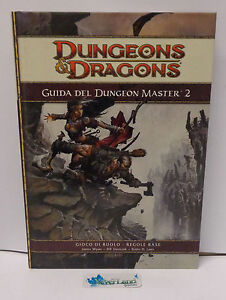 Gioco di Ruolo Game Manuale Dungeons & Dragons D&D - Guida del Dungeon Master 2