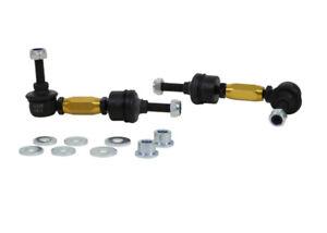 Whiteline Rear Adjustable Heavy Duty Sway Bar Link Kit for 13-18 Ford Focus ST
