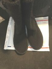 "Boots, UGGS, BLACK, 1"" wedge, SZ: 9M"