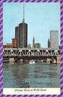 Carte Postale - Chicago River at Wells Street