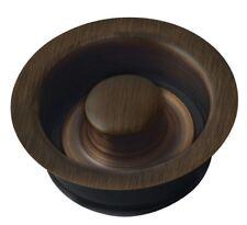 "Ariellina Waste Disposal Drain Oil Rubbed Bronze For Kitchen Sinks 3.5"" Copper"