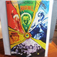 GRATEFUL DEAD JIMI HENDRIX JANIS JOPLIN BILL GRAHAM 60s San Francisco Comic Book