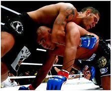 ANTONIO SILVA Signed Autographed UFC MMA 8X10 PIC. H