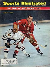 1966 (4/25) Sports Illustrated Magazine Hockey, Stan Mikita, Bill Gadsby ~ Fr