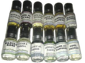 12 NEW Perfumes Attars Fragrances OIL Wholesale Job Lot