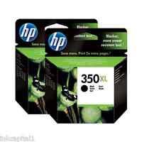 2x HP 350xl Alta Capacidad Original OEM Cartuchos de inyección tinta CB336EE