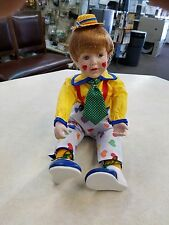 """Kenny Doll by Fayzah Spanos (Danbury Mint """"Clowning Around"""" Collection)"""