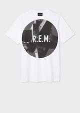 Paul Smith T-shirt - BNWT Men's R.E.M. + - White 'Automatic Logo' RRP: £75.00