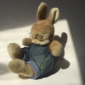 Vintage Softees Non Non Sleeping Rabbit, Gemini toys, See Description.