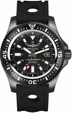 Brand New Breitling Superocean 44 Special Black Steel Watch M1739313/BE92-227S