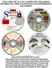 SOFTWARE PACKAGE FOR  RELOADING GREAT GIFT, TARGETS DATA, VIDEOS & MUCH MORE 4D