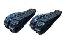 2pc Rubber Track 230x72x43 Made For Hydramac H15 H20 Mini Excavator