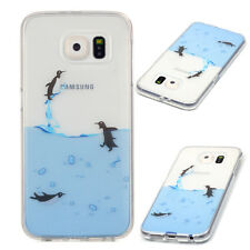 Clear Ultra Thin Soft TPU Rubber Gel Back Case Cover For Samsung Galaxy S6 G9200