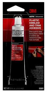 3M 3601 Plastic Emblem and Trim Adhesive