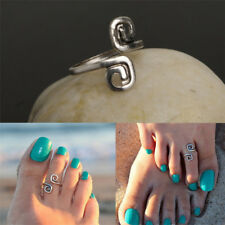 Latest Silver Plated Woman Girls Beach Toe Rings Foot Ring Jewelry