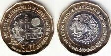 Mexico - 20 Pesos 2019 UNC 500th ann of the founding of the Port of Veracruz