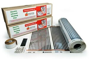 Infrared Heating Film+Installation Kit! European Manufacturer! Fast Delivery!
