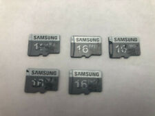 5pc lot USED/tested Samsung 16GB PRO microSD MMDGS16GBUDT-T0 ( non class 10)