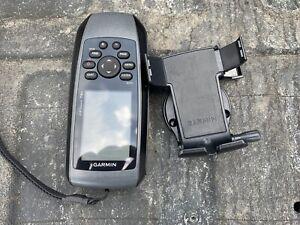 Garmin GPSMAP 78s Handheld Marine GPS Navigator w Deck Dash Mount Bundle