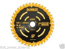DeWALT DT10640 DCS391 Cordless Circular Saw Blade 165mm x 20mm x 40 Tooth DCS391