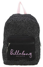 NEW + TAG BILLABONG BEACH CAT BACKPACK SCHOOL GYM BAG WOMENS GIRLS BLACK SANDS
