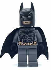 LEGO BATMAN MINIFIGURE - DARK BLUISH GREY SUIT - FROM SET 7888 THE TUMBLER HERO