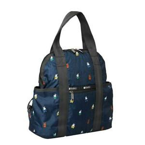 LeSportsac Dick Bruna Collection Double Trouble Backpack in Miffy and Friend NWT