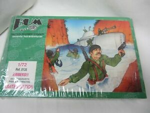 Copy of AIRFIX WWII British Commandos 1/72 soldiers Made in Spain by BUM