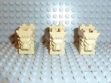 LEGO® Harry Potter Ritter 3x Löwenkopf 30274 in tan beige 4709 4733 6091 R910