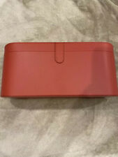 Red Leather OrignalTravel Case Cover Storage Box for Dyson Supersonic Hair Dryer