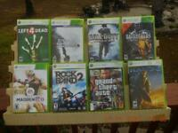 Lot of 8 Original Xbox 360 Games~ Left for Dead, Grand Theft Auto, RockBand 🔥🔥