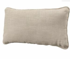 Ikea Cover for Vallentuna Back Cushion in Hillared Beige 104.873.88 New