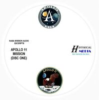 NASA SPACE AUDIO - Mission Audio From Apollo 11 On 2 Audio CDs ARMSTRONG, ALDRIN