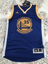 Kevin Durant Golden State Warriors Adidas Swingman Jersey Blue Size S