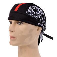 MagiDeal Headscarf Headband Scarf Bandana for Sports Bike Black Red