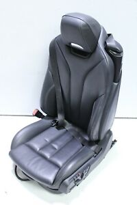 2015 - 2020 BMW M4 F83 Convertible Front Left Driver Side Black Leather Seat Oem