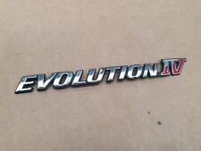 MITSUBISHI LANCER EVOLUTINON IV BADGE CN9A EVO 4 Boot Badge EVOLUTION IV