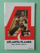1973-74 ATLANTA FLAMES FACT BOOK