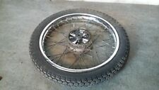 Honda ANF 125 Innova Injection - Rear Wheel & Tyre