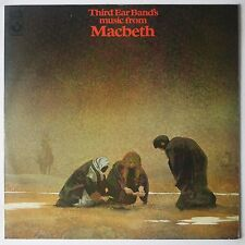 THIRD EAR BAND: Music from Macbeth HARVEST UK Orig A-1/B-1 Folk Avant LP NM