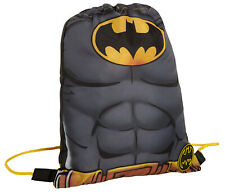 Boys DC Comics Batman Drawstring Gym Bag Kids Sports Swimming PE Kit Rucksack