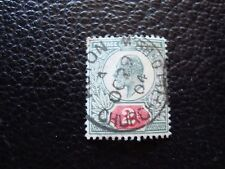 ROYAUME-UNI - timbre yvert et tellier n° 109 obl (A03) stamp united kingdom