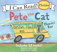 Pete the Cat Phonics Box : Includes 12 Mini-books Featuring Short and Long Vo...