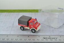 Roco Unimog Fire Department Truck HO Scale 1:87 (HO2875)