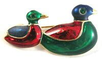 Duckling Duck Brooch Pin Jewelry Enamel Clothing Accessories Easter Spring Gift
