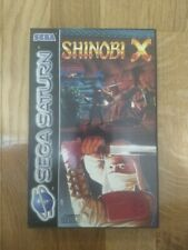 Sega Saturn Shinobi X Pal