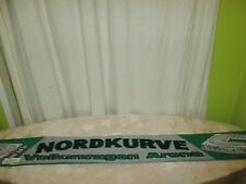 "VfL Wolfsburg Original Fan Schal ""NORDKURVE Volkswagen Arena"" TOP"