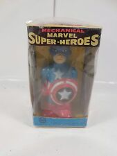 VINTAGE MARX TOYS MECHANICAL MARVEL SUPER-HEROES CAPTAIN AMERICA FIGURE 1968